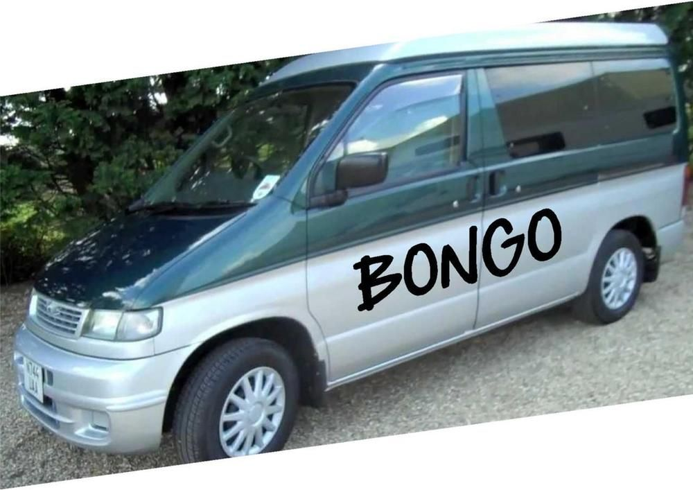 Mazda Bongo Graphics 2 Vinyl Sticker Decals Waterproof Mazda Bongo Bongo Mazda