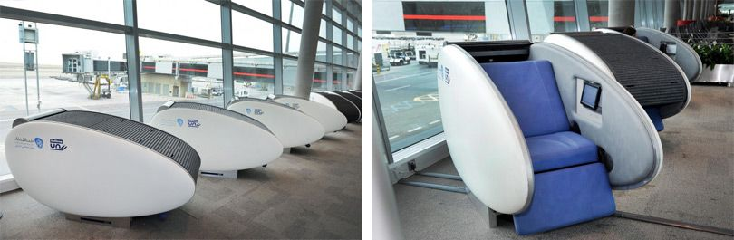airport sleeping pods innovation and technology airport sleeping pods sleeping pods. Black Bedroom Furniture Sets. Home Design Ideas