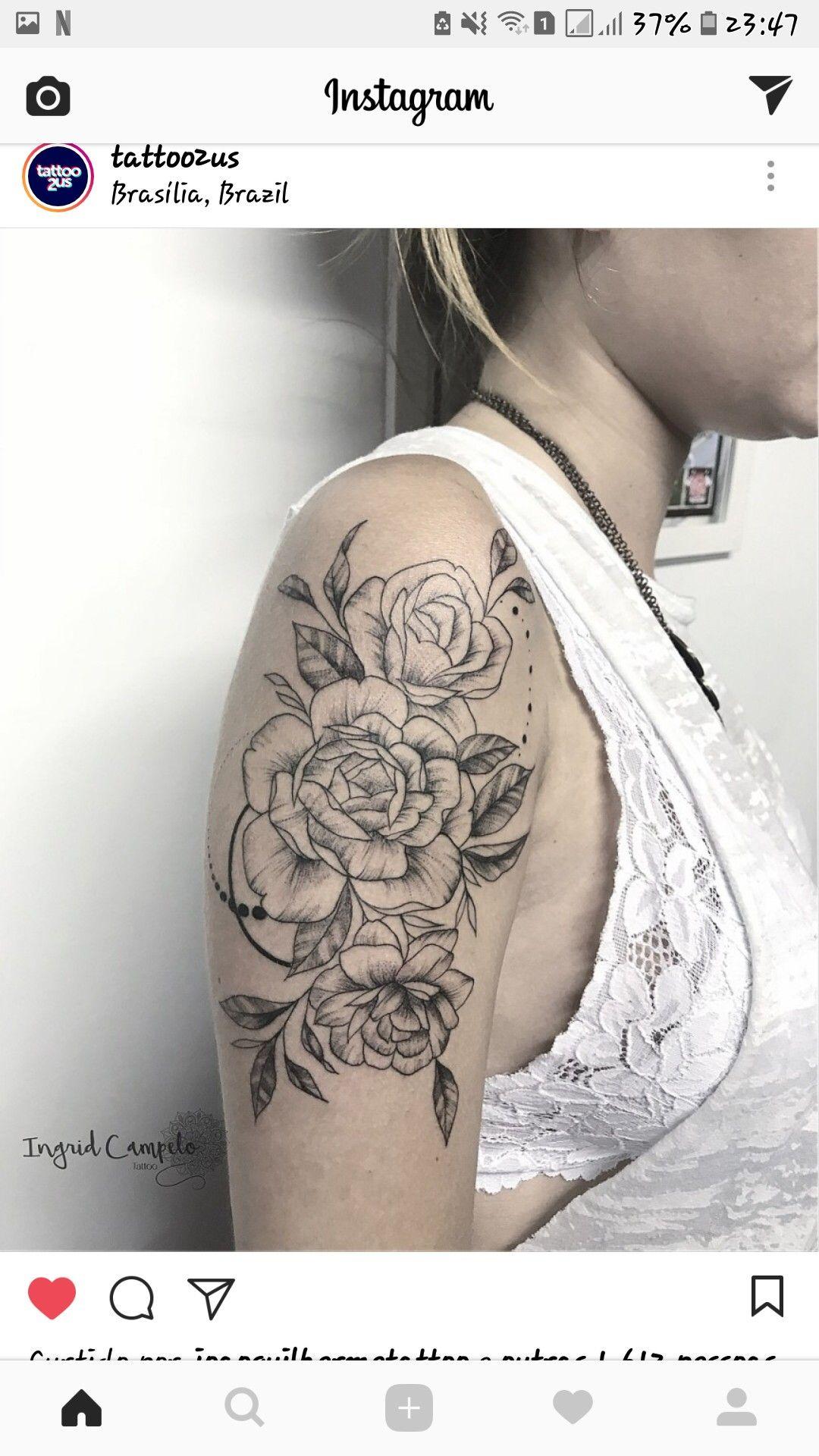 Pin De Aline Marques Em Tatoo Tatuagem Feminina Tatuagem