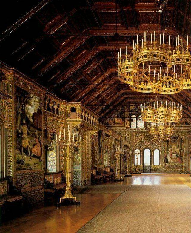 Schloss Neuschwanstein Innen Castello Di Neuschwanstein Luoghi Viaggi