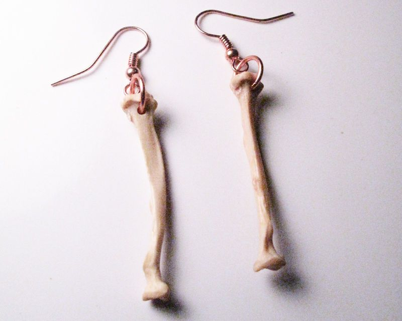 Bone Earrings - Ulna Bone Earrings  $16.99