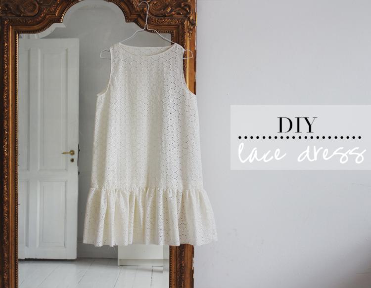 lace dress diy, so cute!