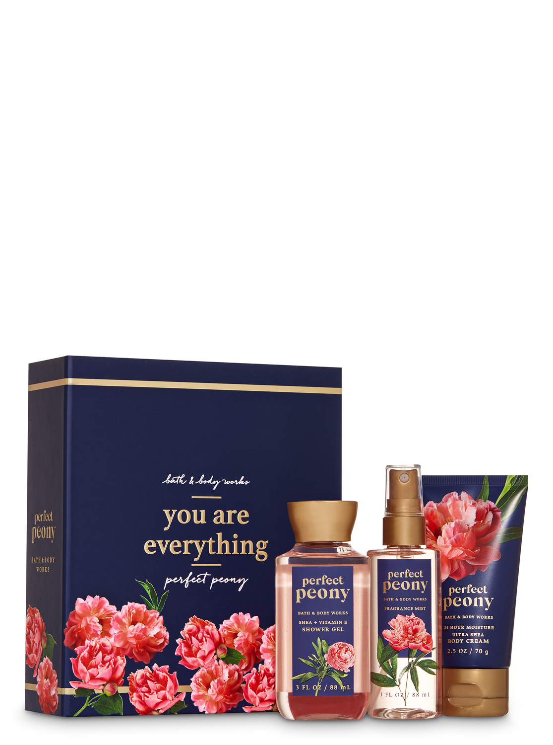 Perfect Peony Mini Gift Box Set Bath And Body Works Big Clearancesale 3days Only All 1 99 Bath And Body Works Bath And Body Body Lotion Cream
