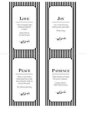 Fruits Of The Spirit Place Settings Relief Society Lessons