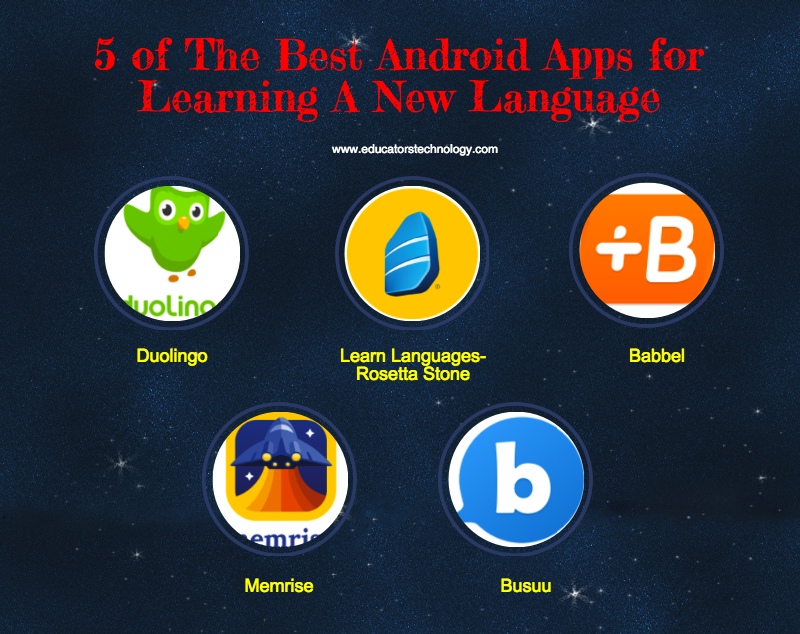 5 Of The Best Android Apps For Learning A New Language Language