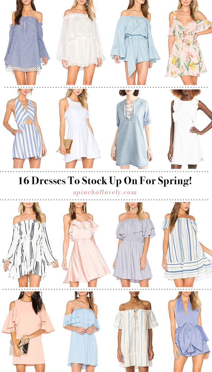 8 Spring Dress Styles Worth Swooning Over  Wednesday Wishlist
