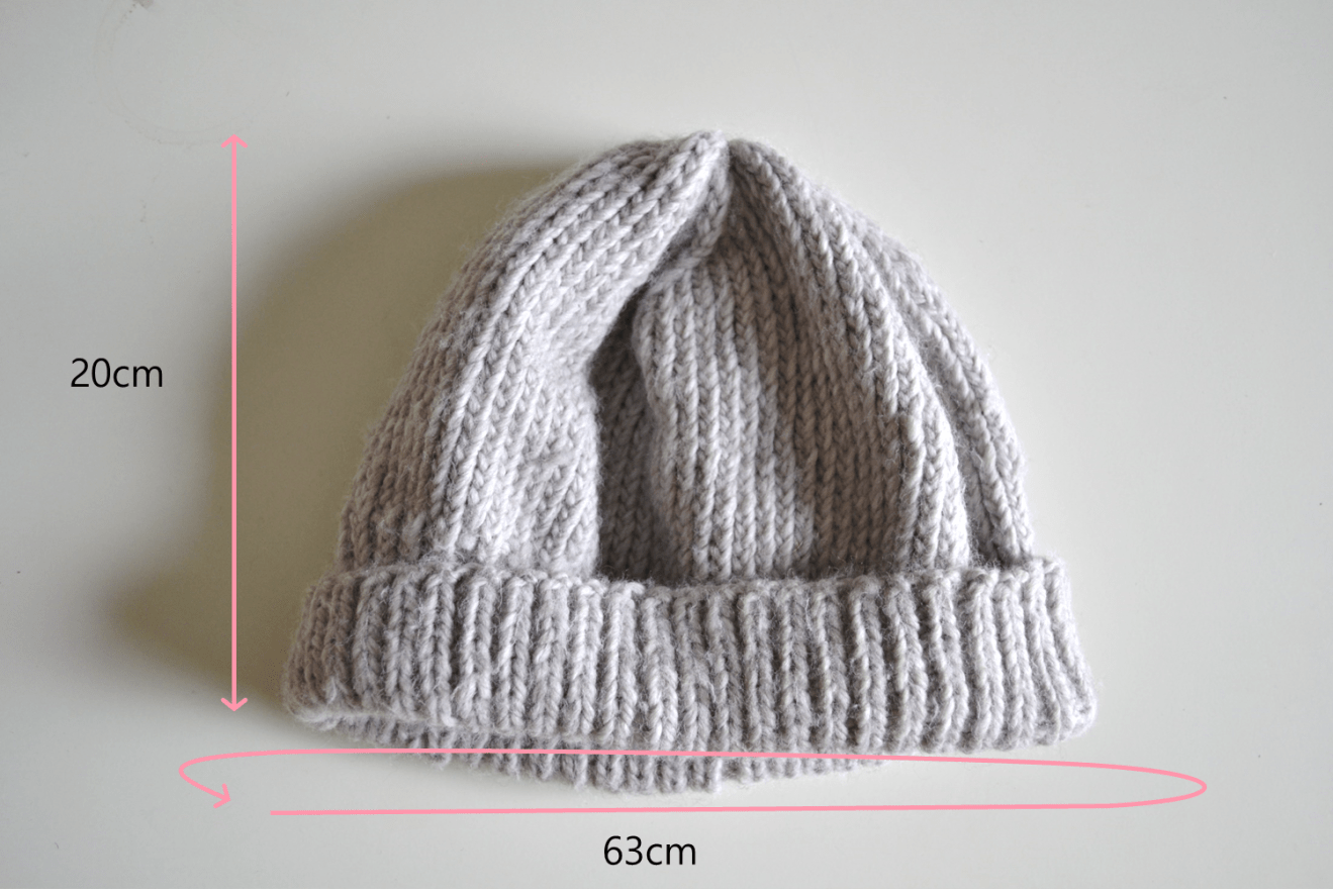 Easy Hat Knitting Pattern   Simple Hat   Knitting with ...