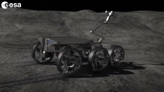 The European Space Agency has released a video showing