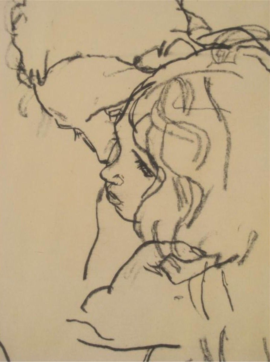 My heart leaps up — afroui:    Egon Schiele