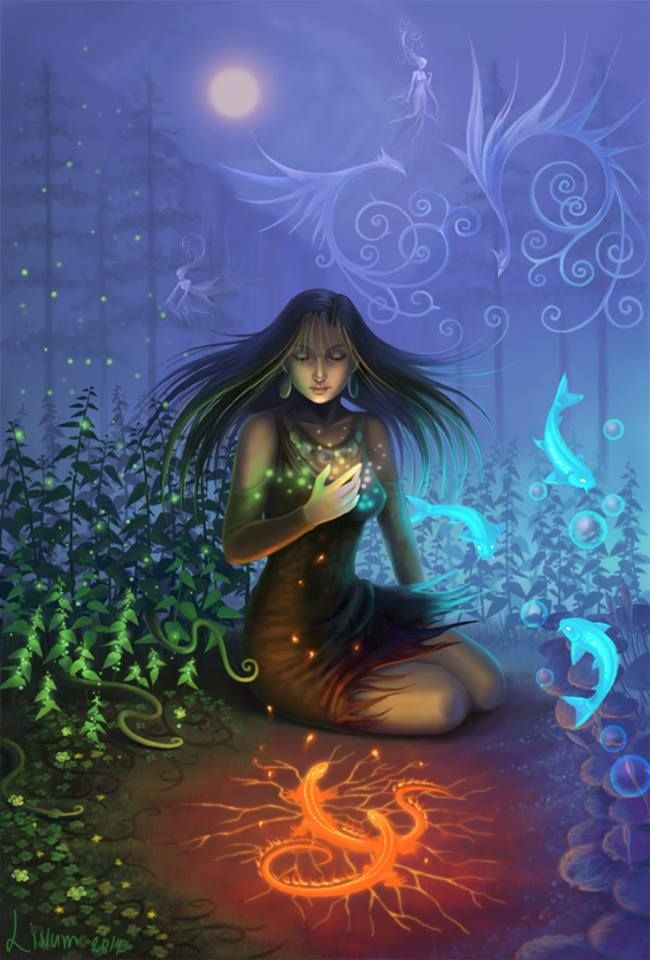 Magical Being-Spirit Caller | Magical Beings | Pinterest