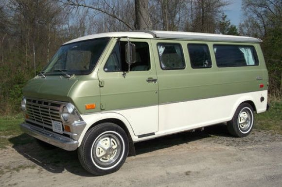 62k Mile Pop Top 1970 Ford E200 Camper Ford Van Vans Van For Sale