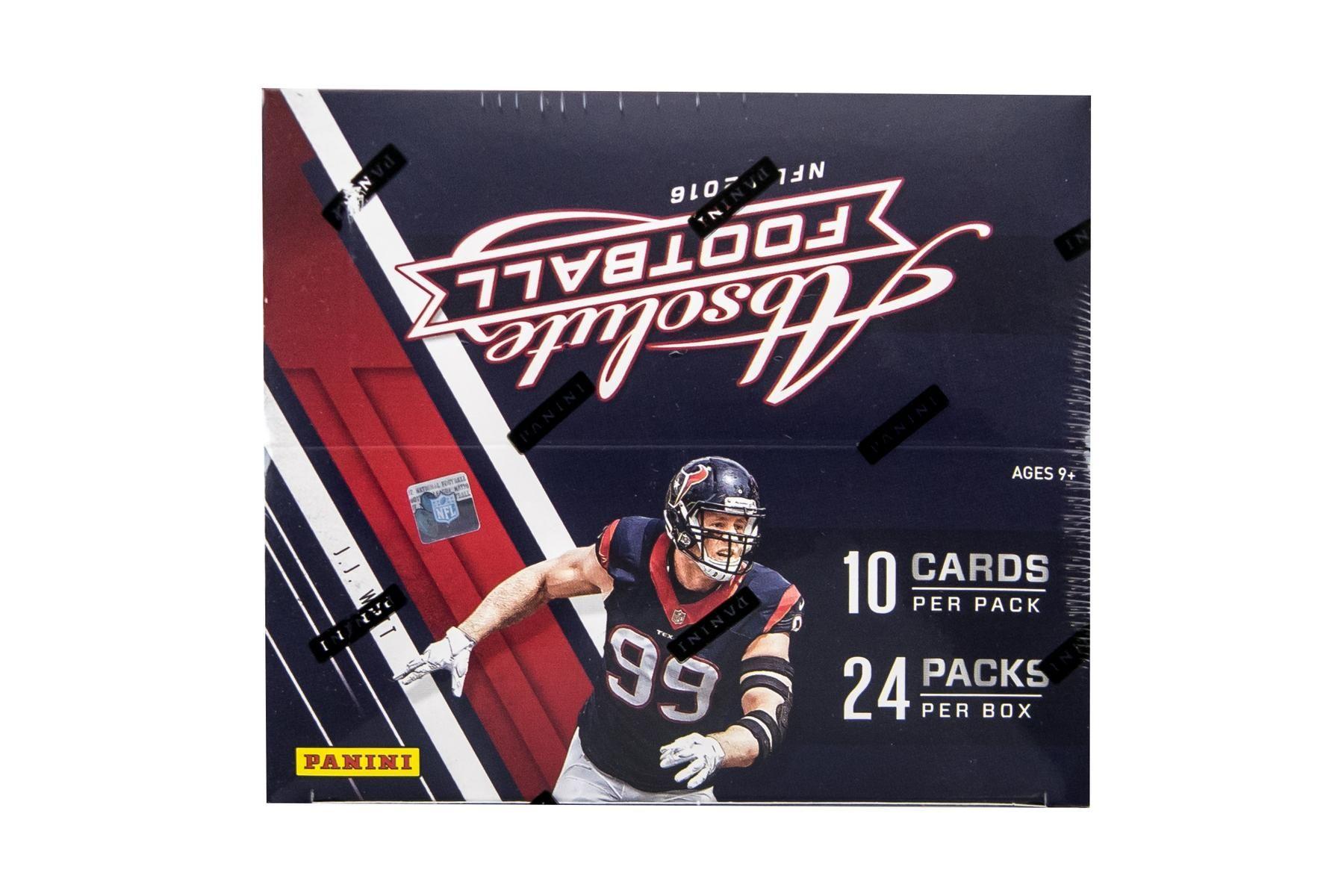 2016 panini absolute football 24pack box football
