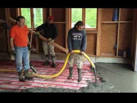 Radiant Heat Garage Floor