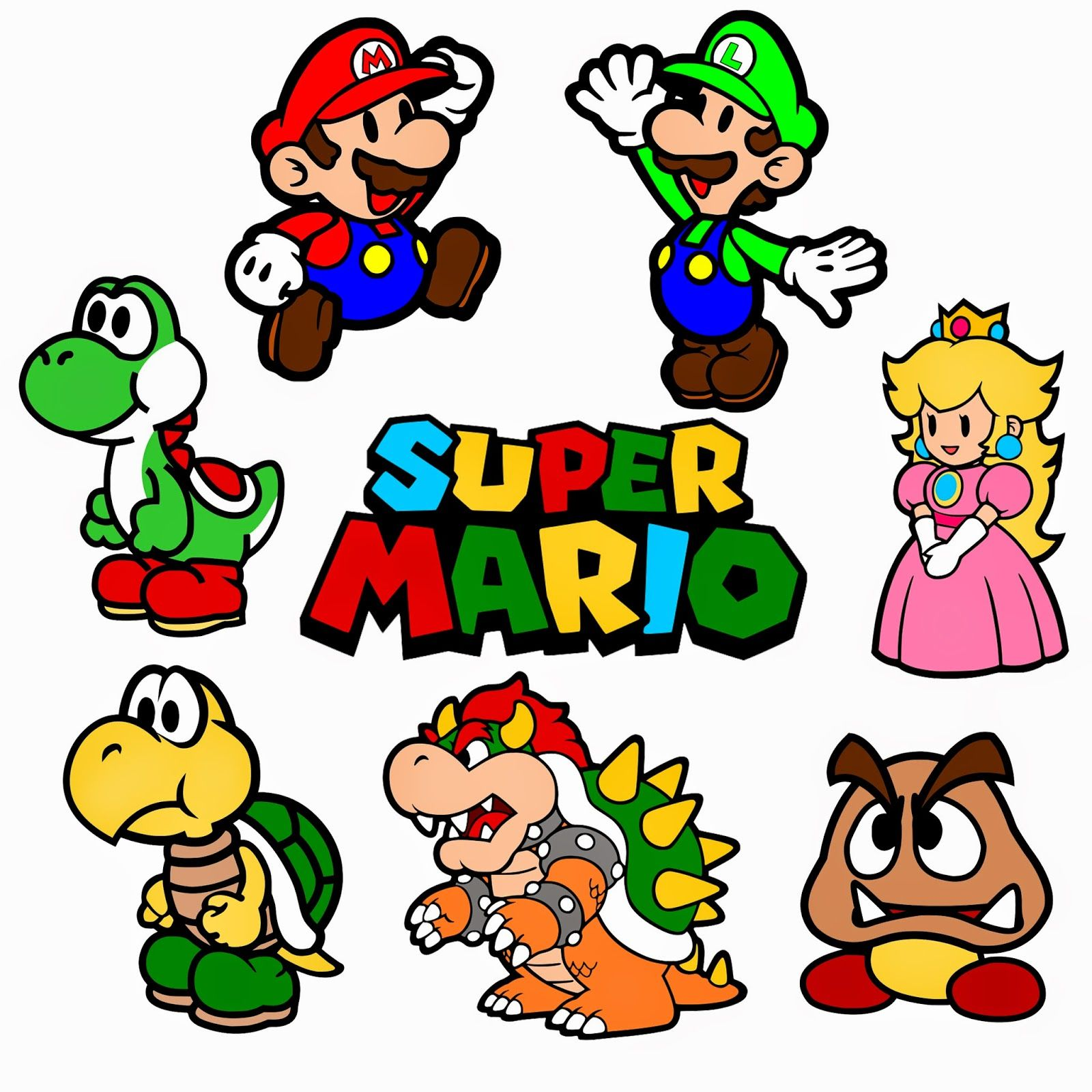 Krafty Nook Super Mario Bros Svg Files Super Mario Bros Birthday Party Super Mario Mario Bros Party