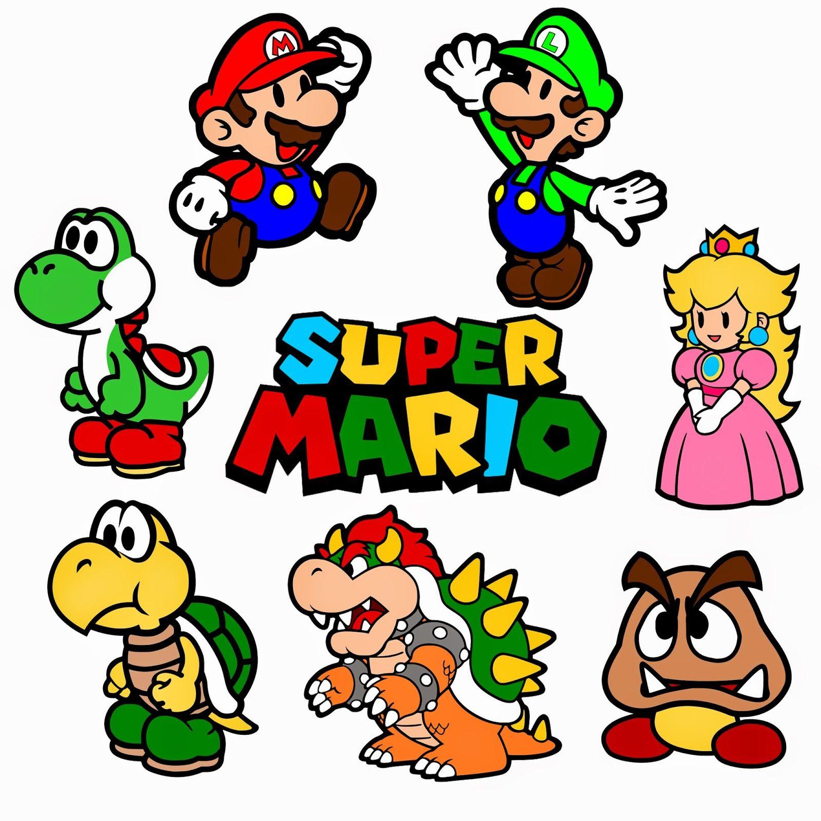 Krafty Nook Super Mario Bros. SVG Files Super mario