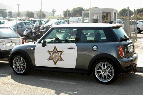 Sheriff - Police - MINI Cooper S John Cooper Works R53. Vinyl project