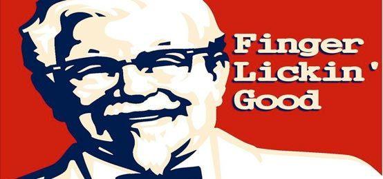 Fried Chicken Slogans: Kfc Logo With The Old Man.