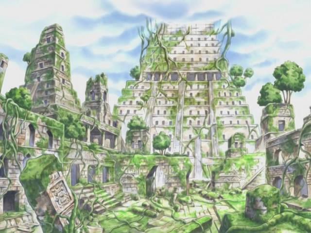 Shandora Ruins One Piece Pictures Scenery One Piece Manga