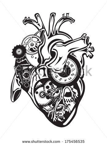 Pin de Zita lez en cráneo y miocardio | Pinterest | Tattoos, Heart y ...