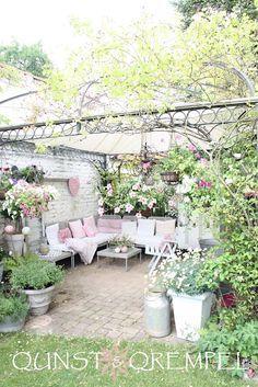 Risultati Immagini Per Shabby Chic Terraces And Garden