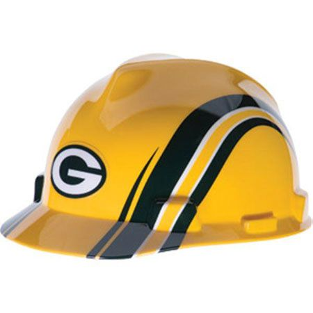 283fc62cf73 Green Bay Packers Hard Hat - NFL Licensed Construction Safety Helmet ...
