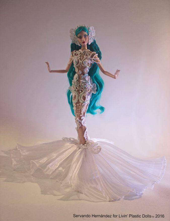 ООАК кукла Барби русалочка | Русалочка, Барби, Куклы барби