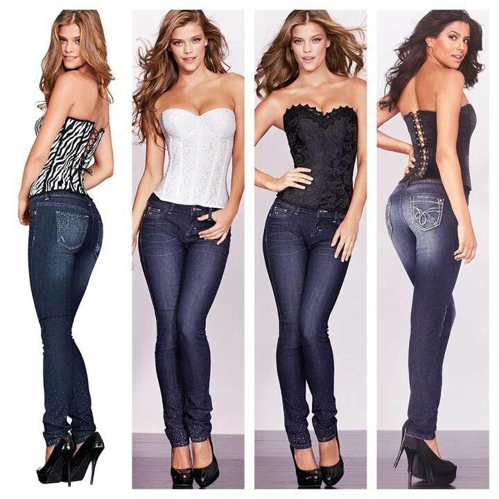 9a18fcfdd5e I just love corsets and jeans