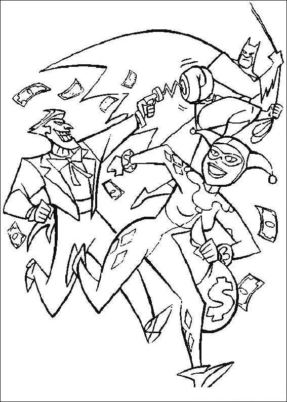 Colouring In Page Batman : Batman coloring page pages of epicness pinterest