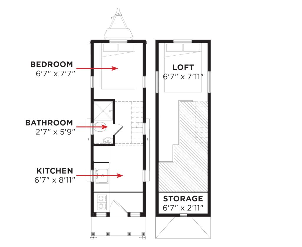 elm tumbleweed houseground - Tumbleweed Tiny House Plans
