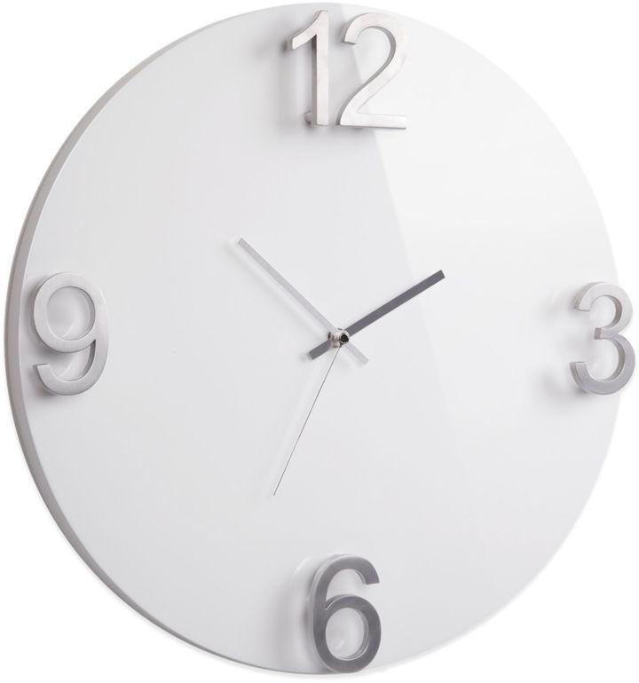 Simple Design Clock Umbra Elapse High Gloss Wall In