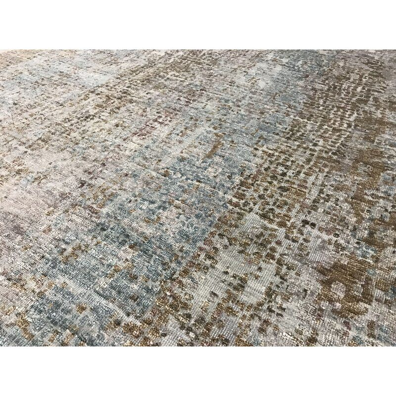 One Of A Kind Neo Villa Hand Knotted Brown 10 2 X 13 10 Area Rug In 2020 Area Rugs Rugs Brown Area Rugs