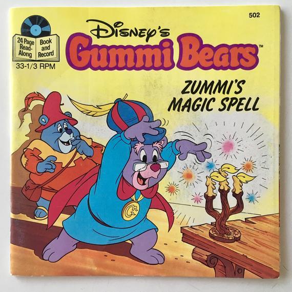 Gummi Bears: Zummi's Magic Spell 7' Vinyl Record / 24 Page Book