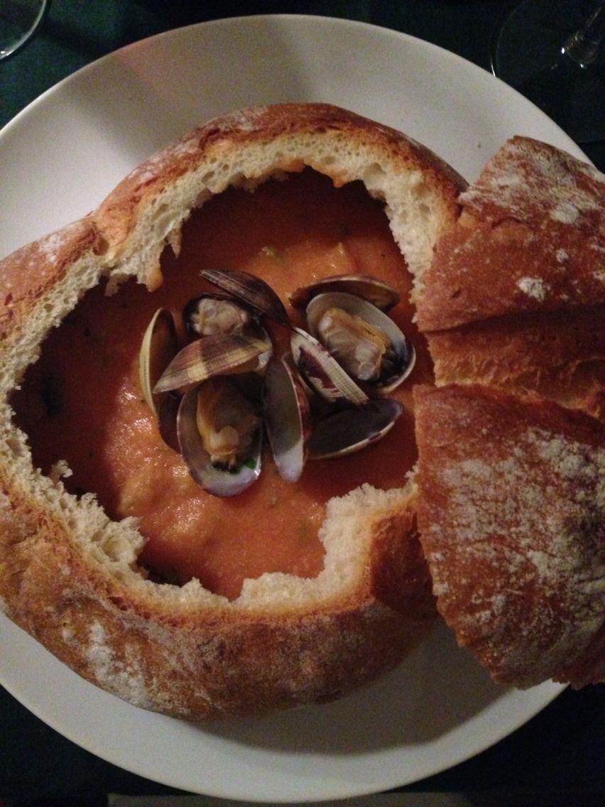 New England Clam Chowder Food, Clam chowder, Breakfast