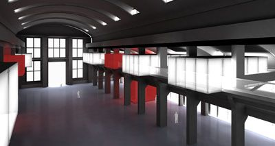 Rehabilitación de la nave Torroja para Centro de Expresión de las Nuevas Tecnologías. Concurso 2006