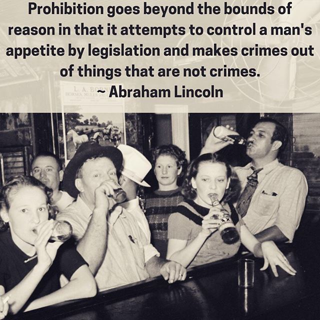 Prohibition pushes people into dark corners when they should be letting their light shine! #legalizeit #reform #notcrimes #cannabiscommunity