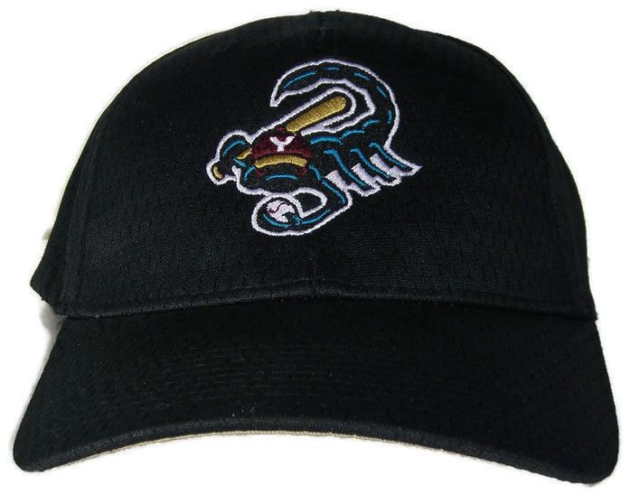 scorpions minor league baseball cap fitted hat vintage pro model hats
