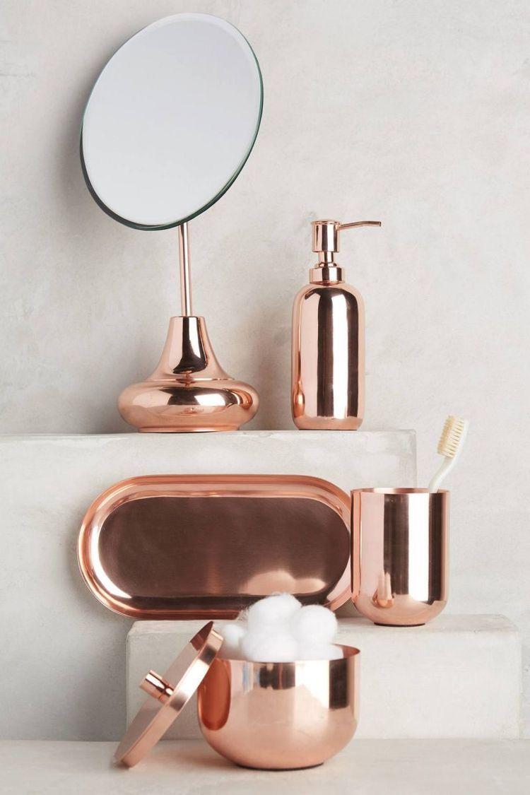 Gold Bad Von Monika Szelesi Auf Kupfer Kupfer Einrichtung Tolle Badezimmer