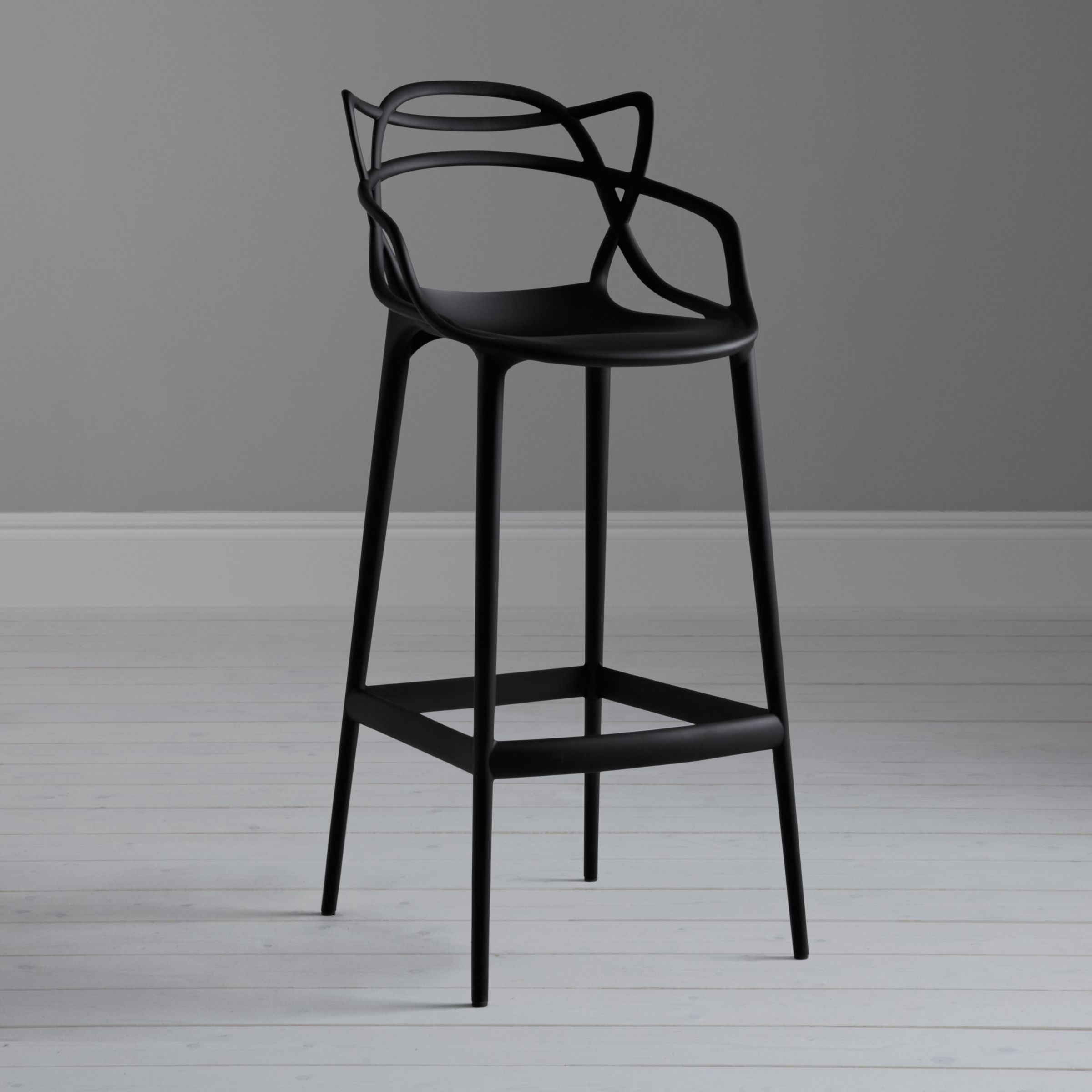 Philippe Starck For Kartell Masters Bar Chair Black In 2020 Bar