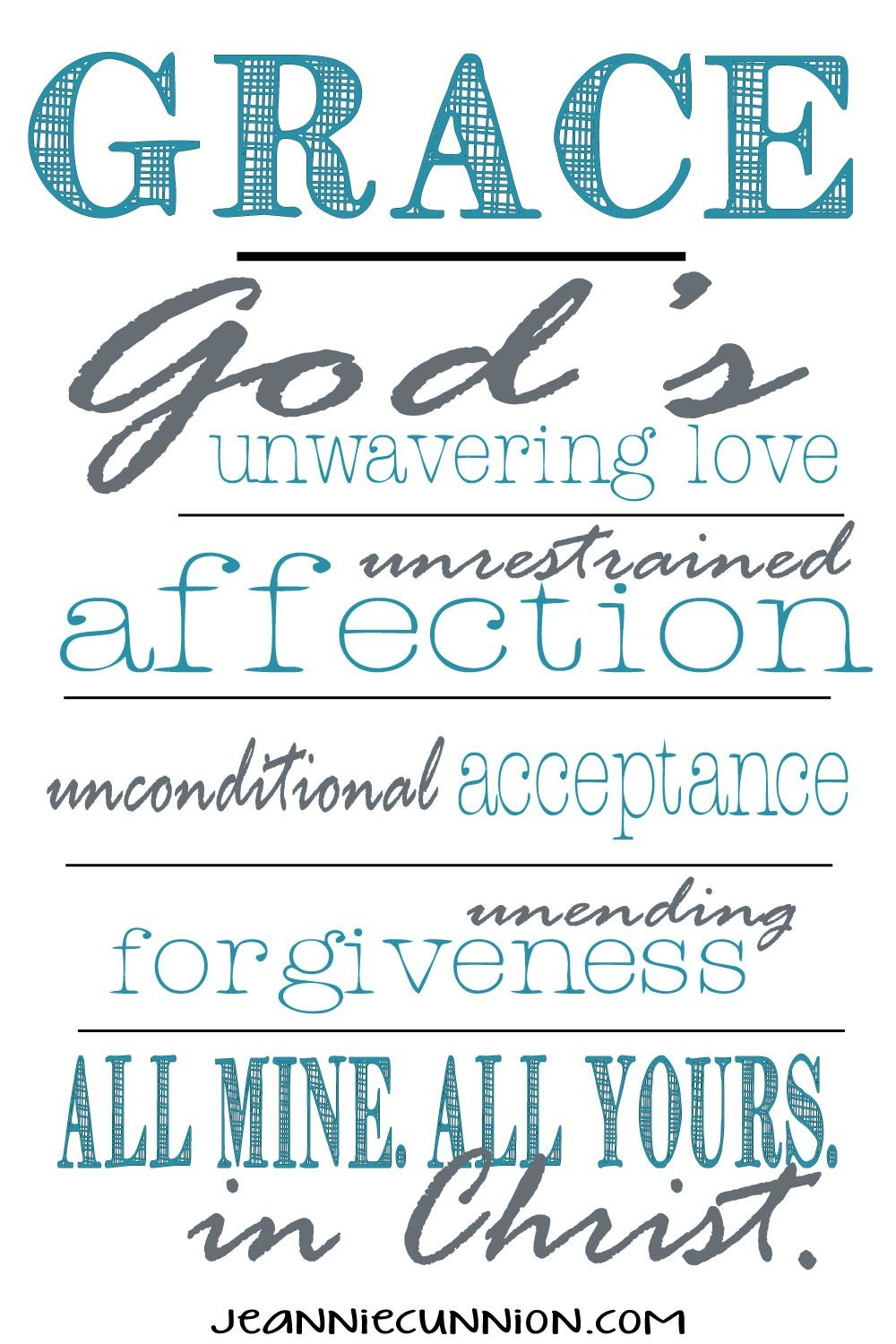 God's Grace Quotes What Is Grace Love This Definition Of Gracewho We Really Are In