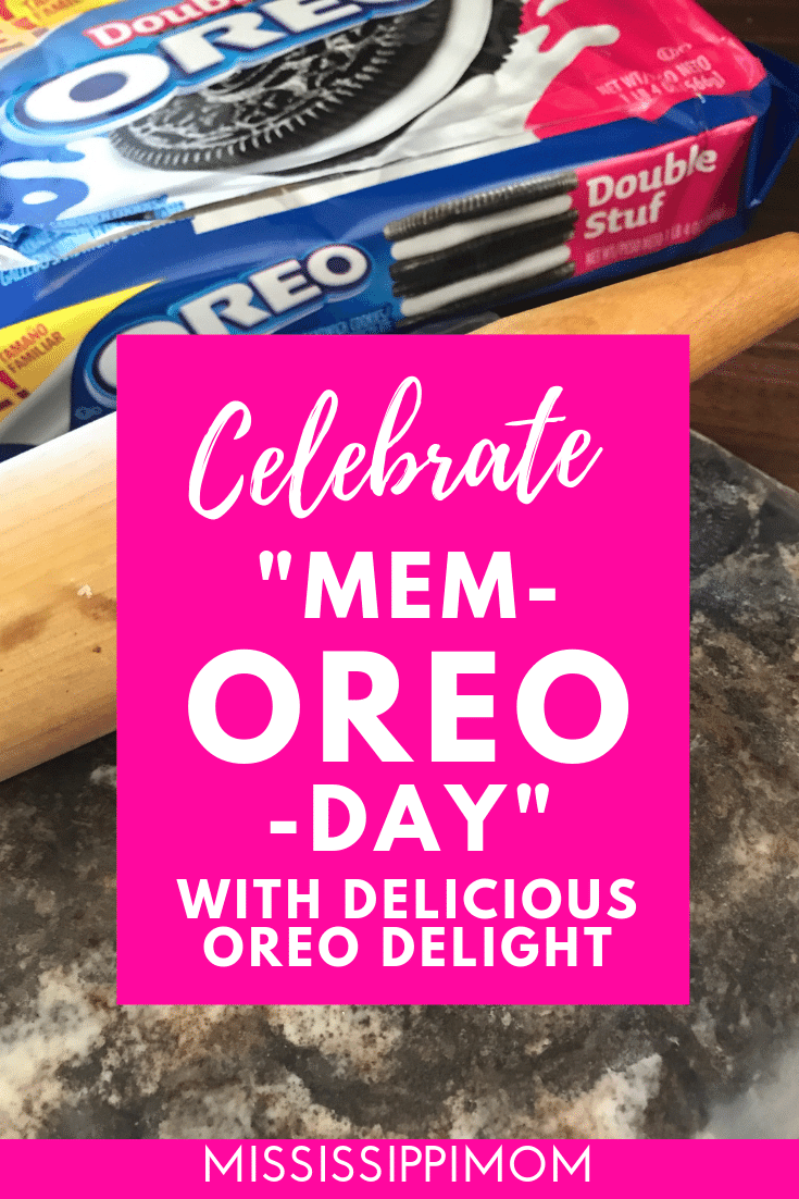 "Celebrate ""Mem-OREO"" Day with a Quick & Easy Frozen Dessert images"