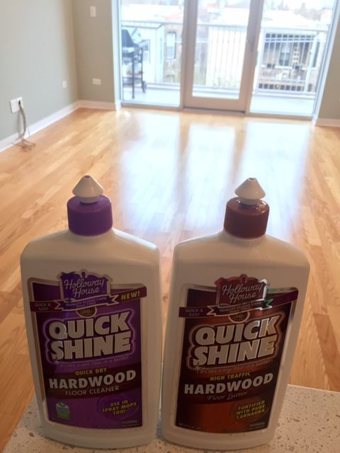 Quick Shine Did A Great Job On The Floor Of My New Home