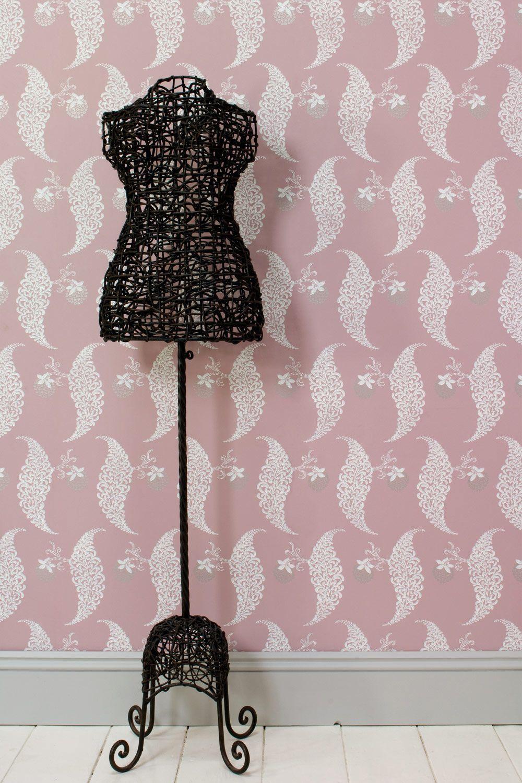 Wallpaper+Paint Farrow ball, Wallpaper, Painting wallpaper