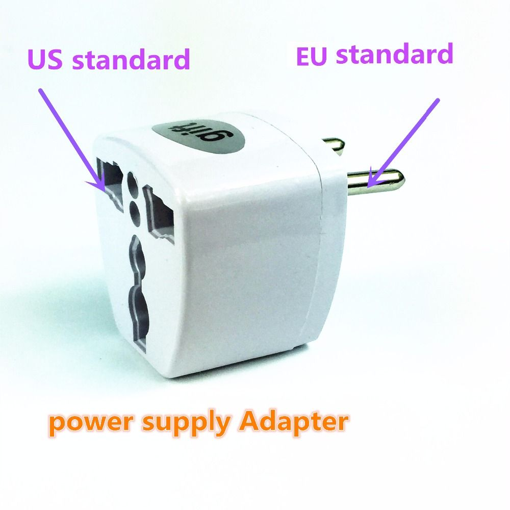 $2.00 (Buy here: http://appdeal.ru/7t5c ) black/white US to EU AC Power Plug Travel Converter Adapter Household Plugs adaptor plug for just $2.00