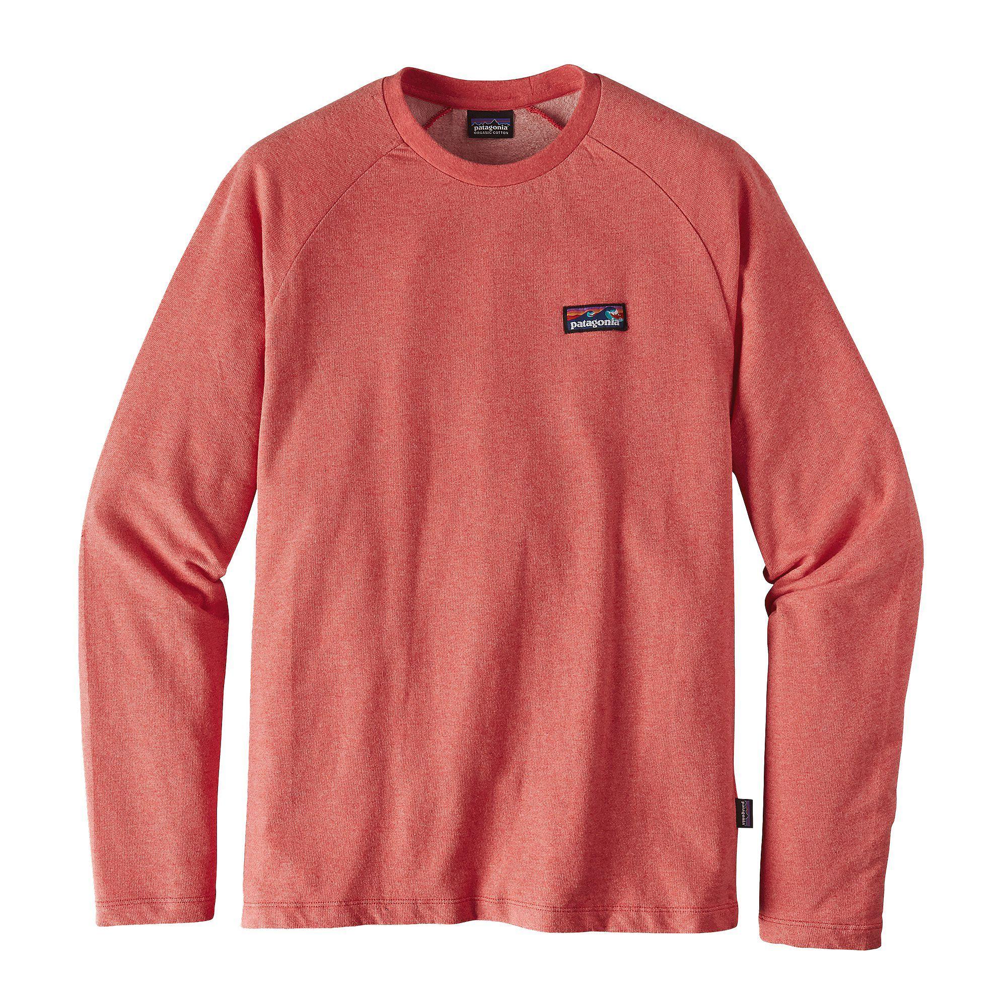 Patagonia Men S Board Short Label Lw Crew Sweatshirt Mens Sweatshirts Long Sleeve Tshirt Men Mens Outdoor Clothing [ 2000 x 2000 Pixel ]