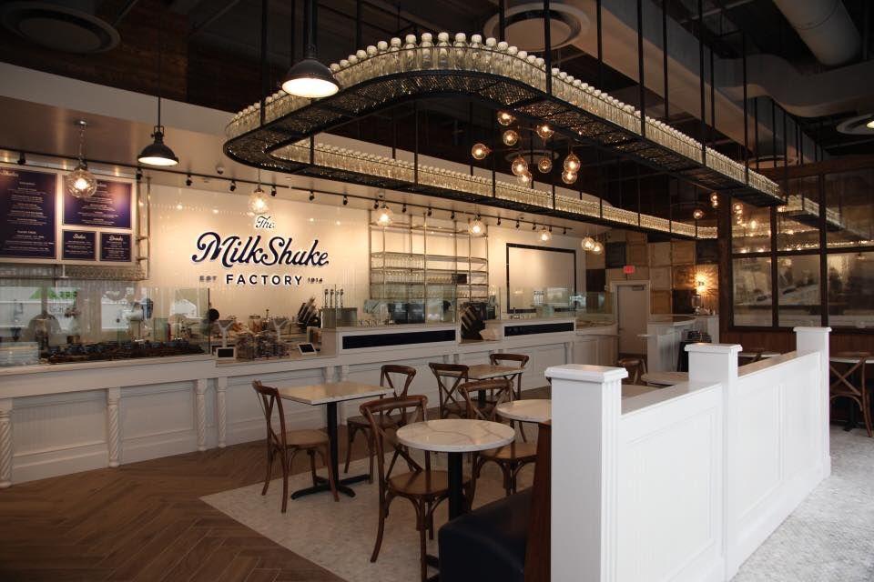 The Milk Shake Factory An Incredible Milkshake Bar In Pennsylvania Milkshake Bar Milkshake Shop Milkshake