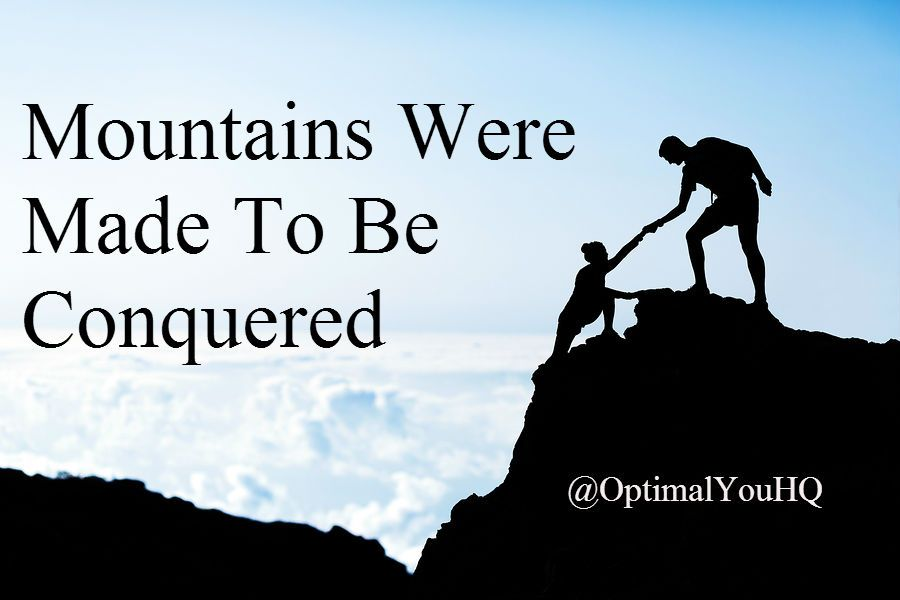 We Are All Capable Of Far More Than We Realize. Move Mountains