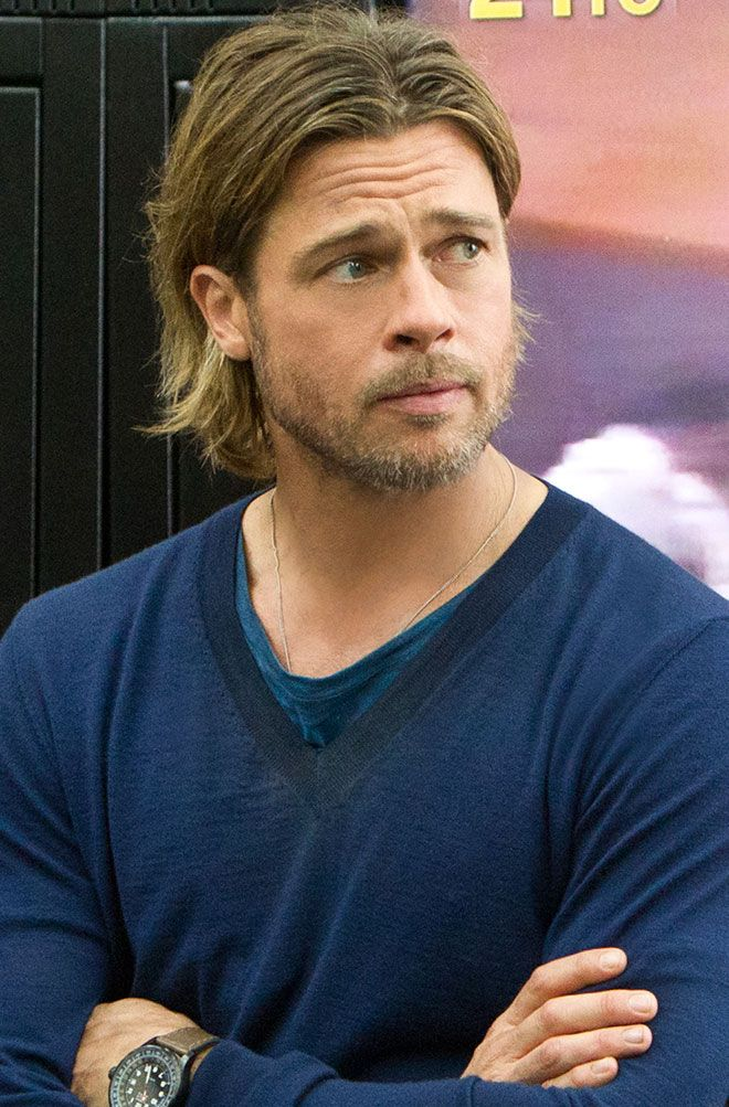 Brad Pitt: Movie Hair Dos and Don'ts   EW.com
