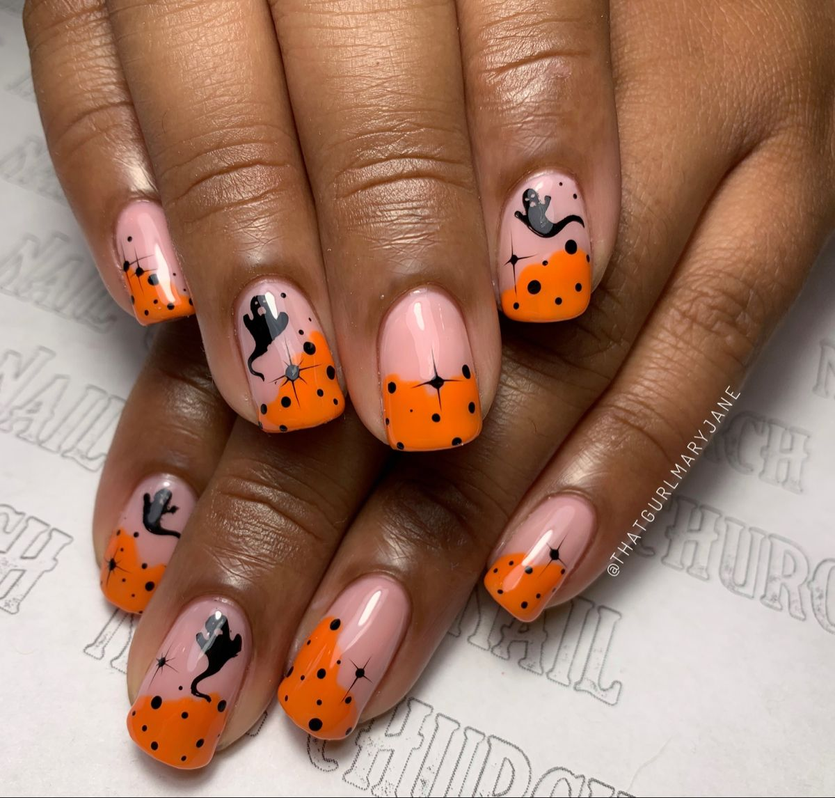 #nails #spooky #halloween #nailart #nailsofinstagram #nailstagram #naildesigns #nailsonfleek #nailsmagazine #nailartdesigns #nailstyle #nailartclub #nailaddiction #nailfashion