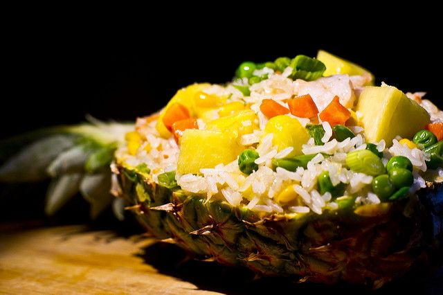 By Fanqing Feng Dietetic Intern University Of Minnesota The Emily Program This Pineapple Chi Vegetarian Thai Recipes Easy Rice Recipes Indian Food Recipes