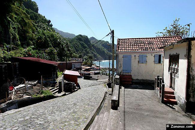 Nord Martinique : Grand-Rivière.